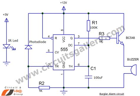 How Make Burglar Alarm Circuit For Your Home Security