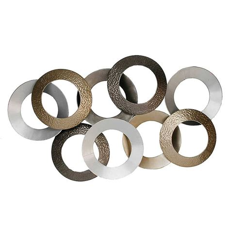 metal circle wall decor 20 best collection of oversized metal wall 7450