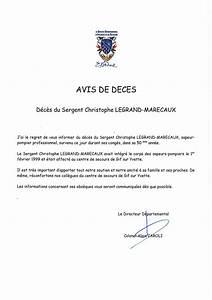Avis De Deces Tourcoing : d c s du sergent christophe legrand marecaux sapeur ~ Dailycaller-alerts.com Idées de Décoration