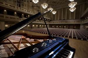 File:Berlin- Grand piano at the main hall stage in the ...
