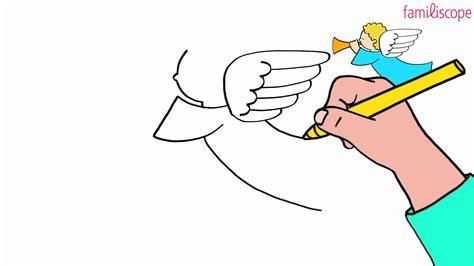 canape fr comment dessiner un ange