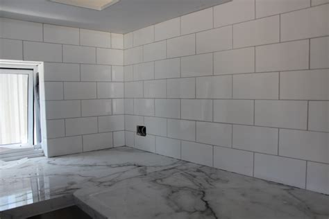 Grey Tiles With Grey Grout by Mist Grey Grout Our House Building