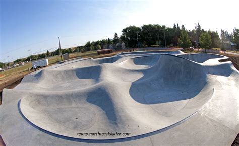 Lewistown Skatepark, Montana