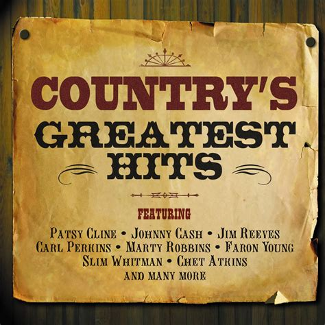 Various Artists  Country's Greatest Hits  Not Now Music
