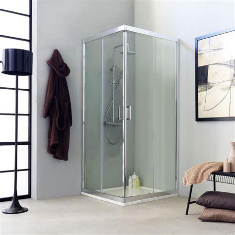 box doccia scorrevole box doccia trasparente quadrata 80x80 cm kv store