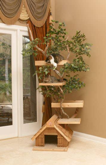 arbre a chat design bois arbre a chat design en bois