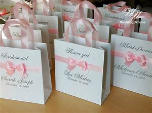 custom personalized bridesmaids gift bags bridal party gift With gifts for wedding party