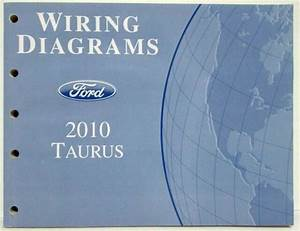 2010 Ford Taurus Electrical Wiring Diagrams Manual
