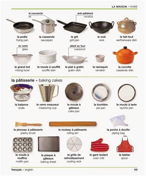 cuisine en anglais ustensile de cuisine anglais maison design bahbe com