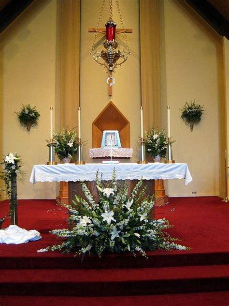 screen decoration at back of altar 98 best images about pulpit flower arrangement on altar flowers floral arrangements