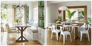 coin repas cuisine grand et confortable d39inspiration nordique With coin repas cuisine moderne