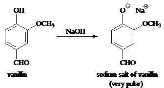 solved vanillin   phenol    converted   pol