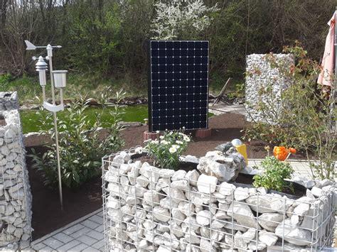 Solar Zaun  Solar Garten  Solaranlagen Photovoltaik