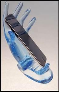 Shell Holder Chart Cell Phone Holder Charger Hand Shaped Mobile Holder