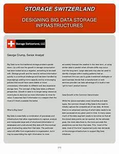 Storage Switzerland: Designing Big Data Storage ...