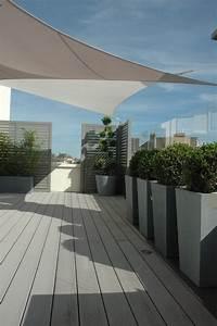 Terrasses En Vue : terrasse transform e par exonido brise vue bacs et ~ Melissatoandfro.com Idées de Décoration