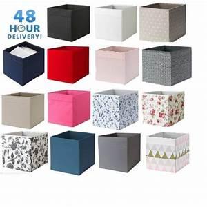 Ikea Kallax Boxen : 4x ikea storage boxes drona magazine kallax shelving shelf box 48 hour delivery ebay ~ Watch28wear.com Haus und Dekorationen