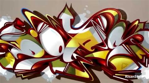 Does Graffiti Art Part2 By Risanstyle Youtube