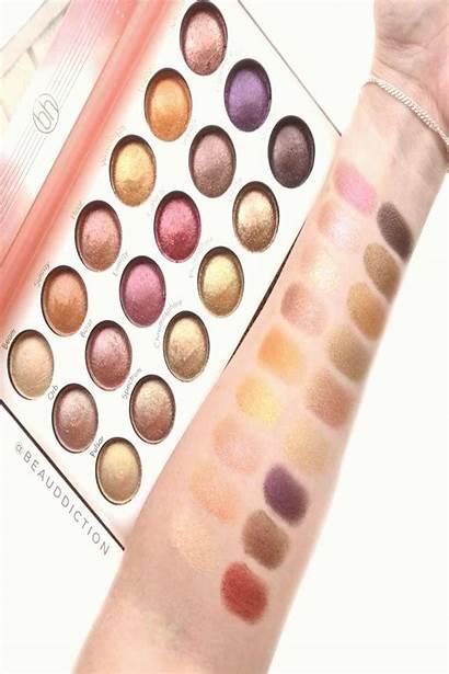 Solar Flares Bh Palette Cosmetics Effect Eyeshadow