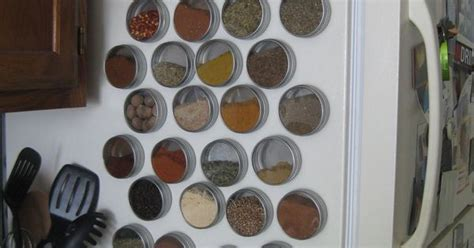Make Your Own Spice Rack by Make Your Own Magnetic Spice Rack Magnets Cabinets And