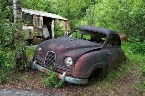 Sweden's Vast Vehicle Cemetery Of
