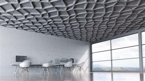 Modular Ceiling Design by Voronoi Ceiling Tile Turf