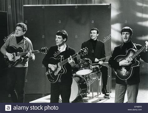 The Fourmost Uk Pop Group In December 1963 From Left