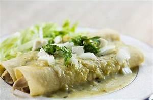 Chicken Enchiladas Verdes Recipe   SimplyRecipes.com