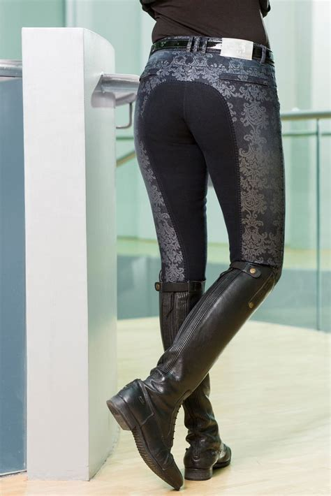 breeches riding boots hkm equestrian butts horse winter clothes outfits pants wear equipment visit outfit