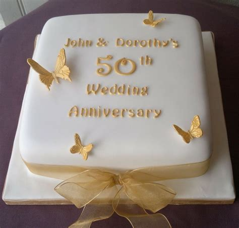 golden anniversary  wedding cakes stuff  buy