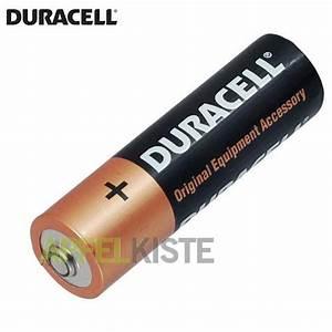 Batterie 1 5 Volt : 1 x 1 5 volt lr6 duracell alkaline batterie aa ~ Jslefanu.com Haus und Dekorationen
