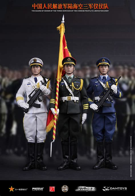 damtoys the guard of honor of the chinese pla