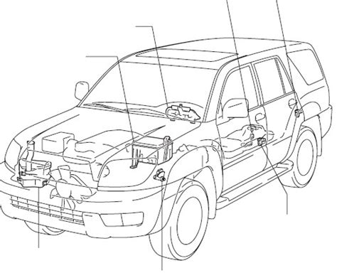 auto manual repair 2008 toyota 4runner navigation system toyota 4runner 2007 2008 service repair manual