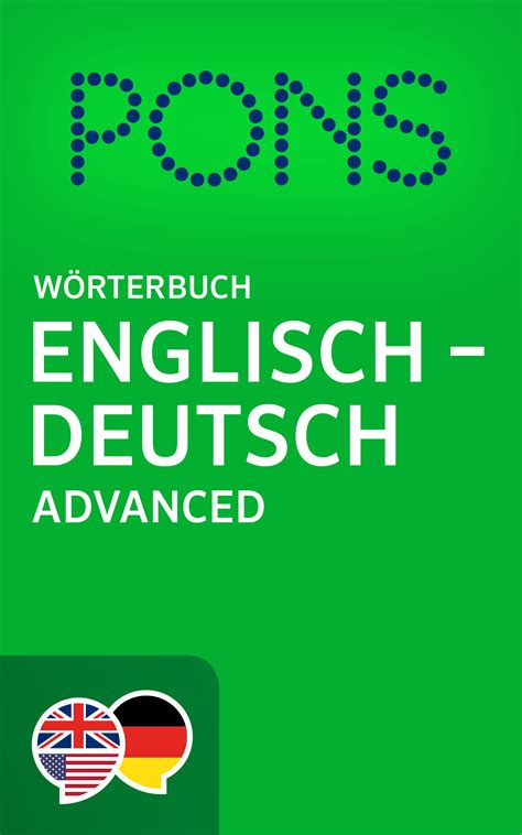 book pons woerterbuch englisch deutsch advanced pons