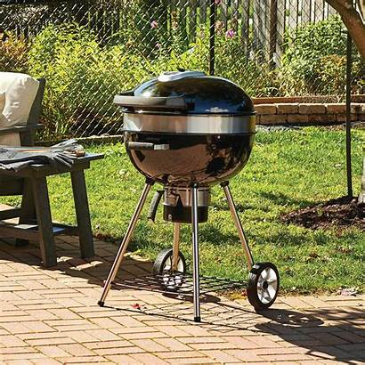 Kettle Grill Charcoal Napoleon Freestanding Landscapelightingproducts Pro22k