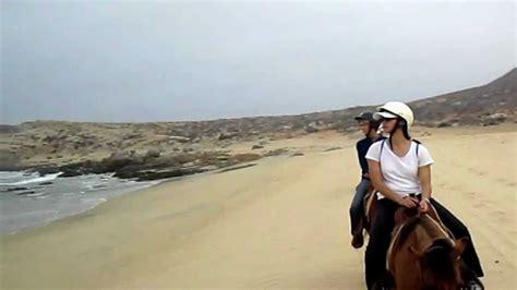 cabo lucas san riding horseback mexico beaches