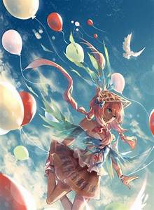 Anime, Girls, Balloons, Wallpapers, Hd, Desktop, And, Mobile, Backgrounds