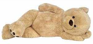 Teddybär Xxl Günstig : xxl riesen teddyb r 170 cm gro beige kuschelqualit t vom feinsten ~ Orissabook.com Haus und Dekorationen