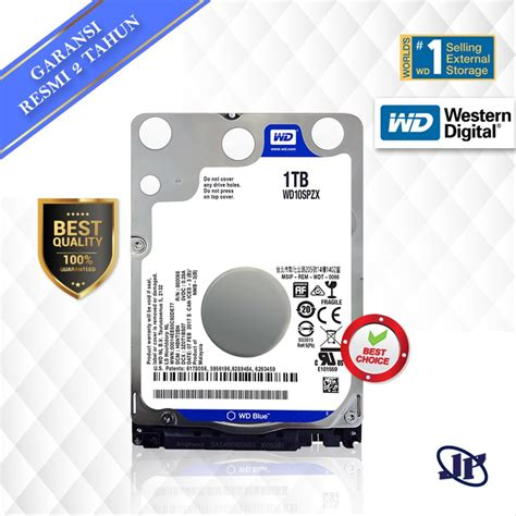 Jual Hardisk Wd 2 5 Quot jual hdd harddisk laptop wd blue scorpio 1tb 2