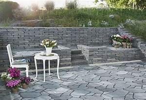 Pflaster Ideen Garten : gartenmauern gestalten ideen gartenmauern gestalten ideen ~ Lizthompson.info Haus und Dekorationen