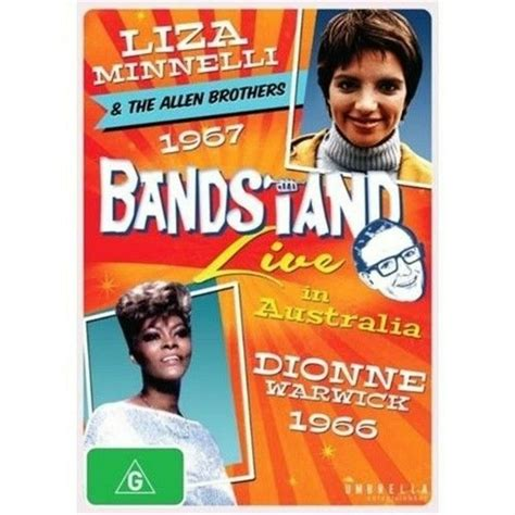 He recruits a group of musical veterans—each wrestling their own demons—and they. Dvd = Bandstand Liza Minnelli Dionne Warwick | eBay