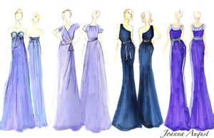 Cocktail Dress Sketches Designs