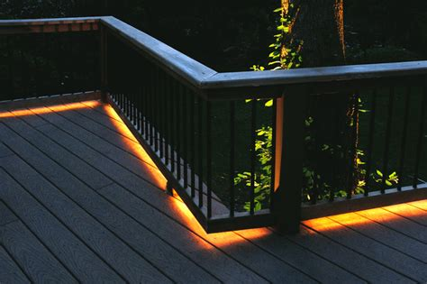 deck railing lights ideas deck lighting faq louie lighting blog