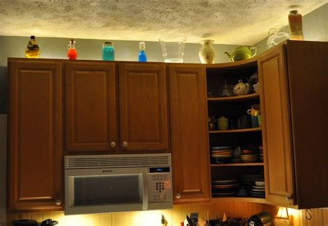 astounding rope lights  cabinets  kitchen digital