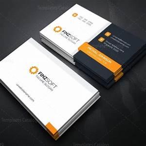 Modern business card design template 000155 template catalog for Modern business card design templates