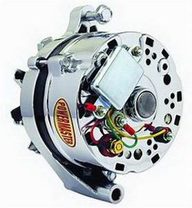 Powermaster 170781 Alternator  Ford 1g  60 Amp  One Wire  Chrome