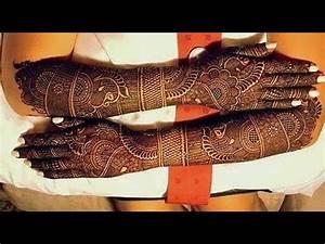Best Bridal Mehndi Henna Designs - 2019-2020 - YouTube