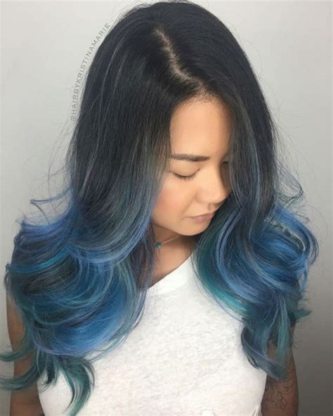And Blue Hairstyles by 40 Like Blue Ombre Hairstyles