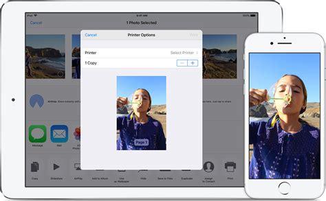 airprint  print   iphone ipad  ipod