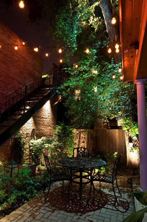 25 Very Inspiring String Light Ideas For Magical Outdoor